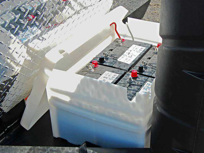 OFF-GRID BATTERY TRAY