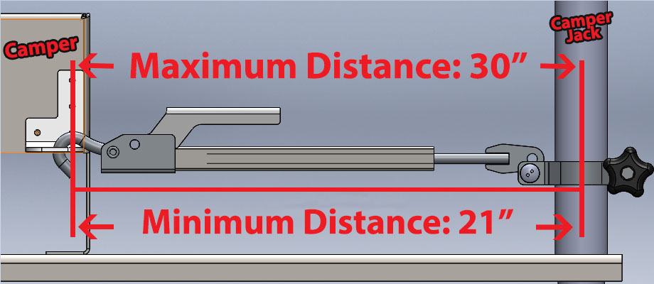 FASTGUN WOBBLE STOPPER MINIMUM AND MAXIMUM DISTANCE